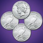 The Peace Silver Dollar First Year of Issue Uncirculated Set PUC 1