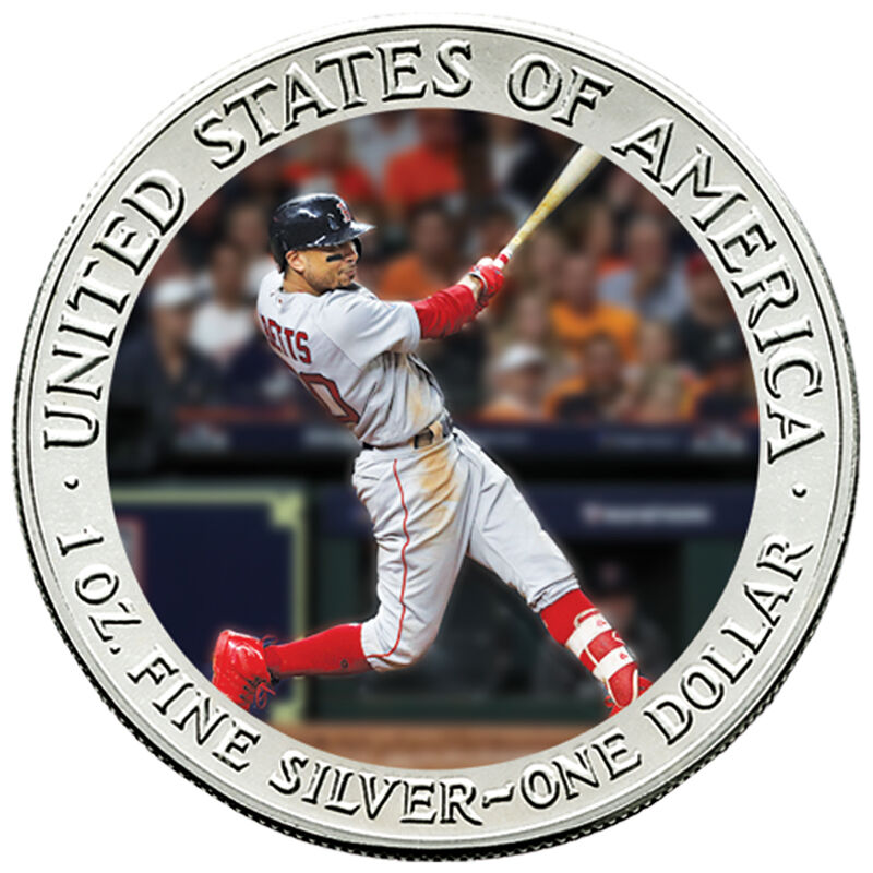 The 2018 Boston Red Sox World Series Champions Commemorative Coin Collection W18 5