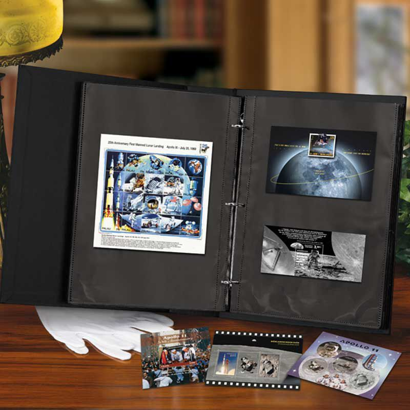 The Moon Landing International Stamp Collection SML 4