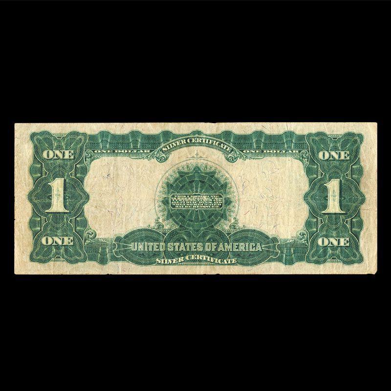 Black Eagle Silver Certificate of 1899 S9C 4