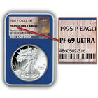 The Philadelphia Mint Proof American Eagle Silver Dollars EPP 3