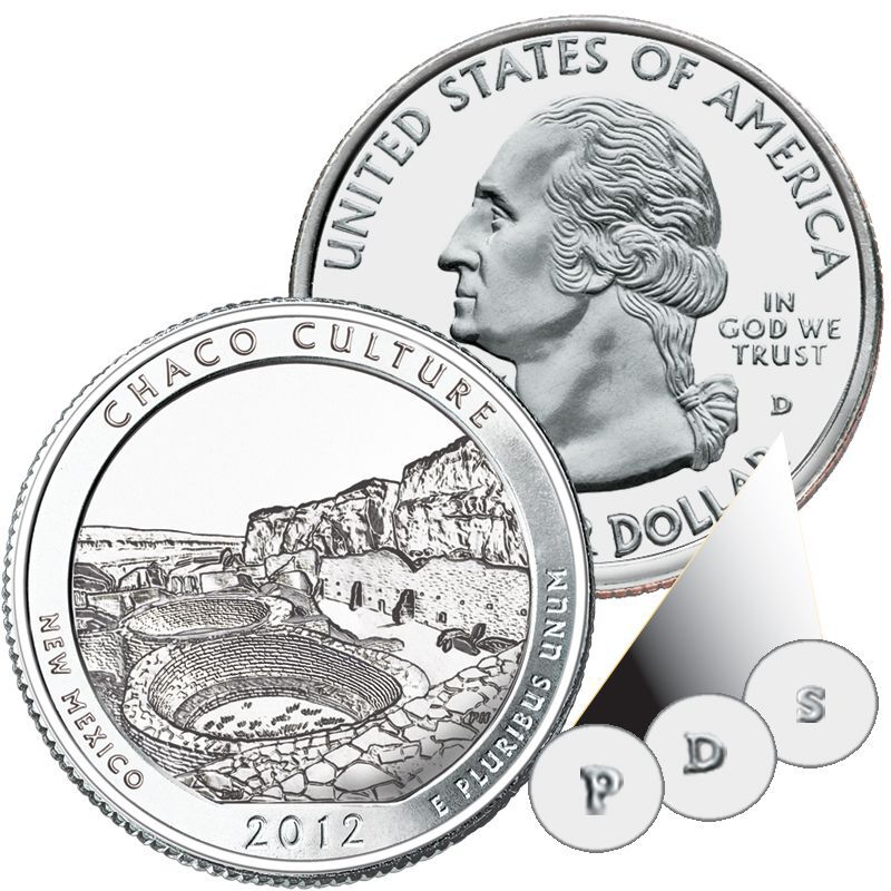 The US National Parks State Quarters Centennial Edition AB1 3