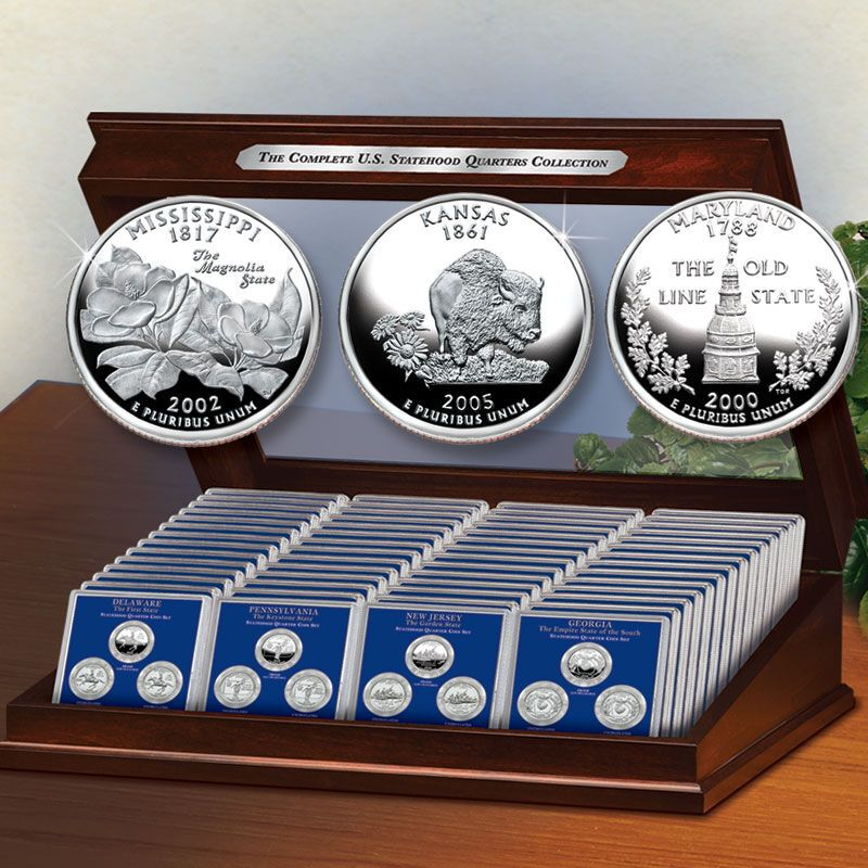 The Complete Statehood Quarters Collection STO 2