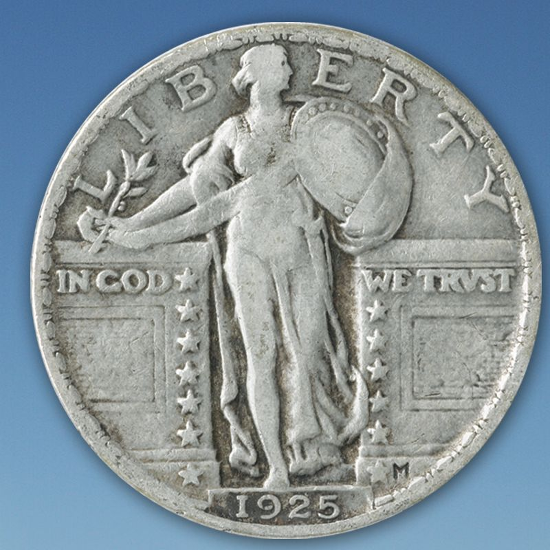 A Century of US Silver Quarters SQT 2