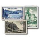 the us national parks stamp collection NPS B Stamps