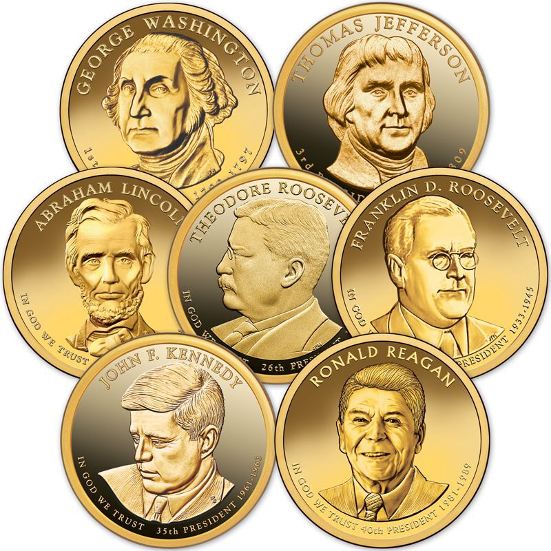 The Complete US Presidential Coin Collection PUP 1