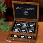 uncirculated franklin silver half dollar collection UFH b Chest