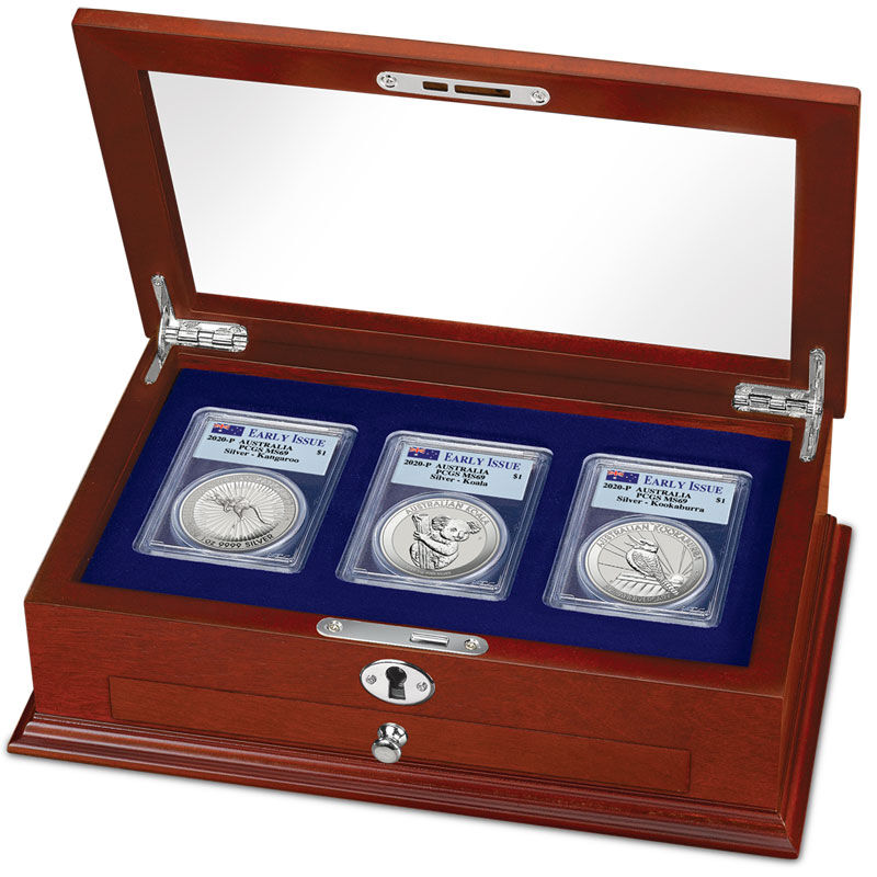 The 2020 Early Issue Australian Silver Dollar Set A20 4