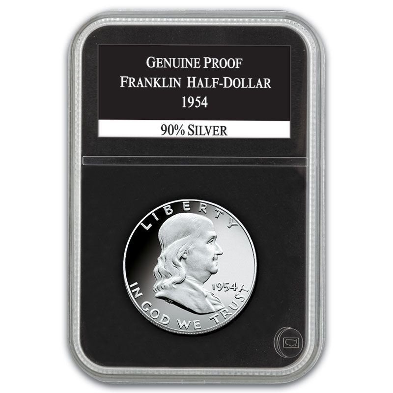 The Proof Franklin Silver Half Dollar Collection FRP 4