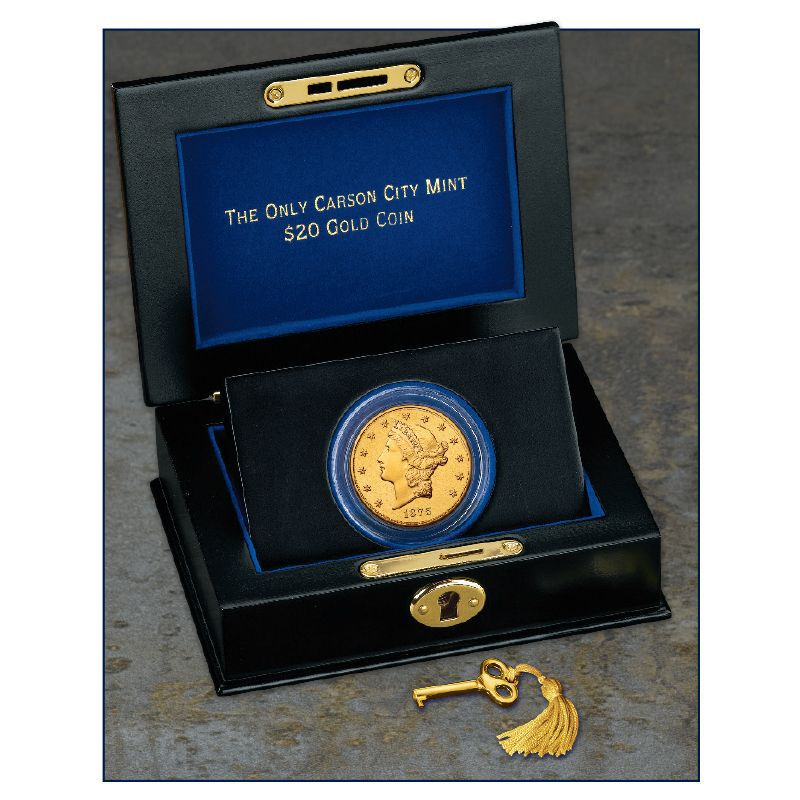 The Only Carson City Mint 20 Gold Coin C20 3