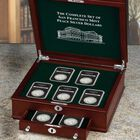 The Complete Set of San Francisco Mint Peace Silver Dollars PSS 3