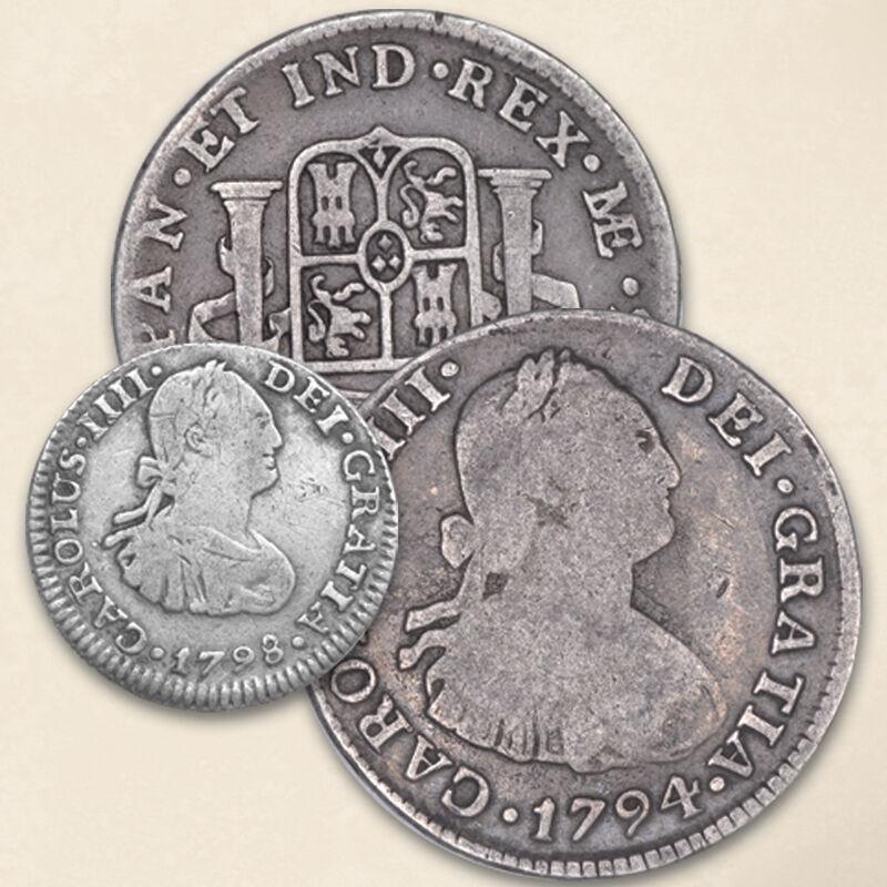 Four Centuries of Americas Silver Coins FR2 2