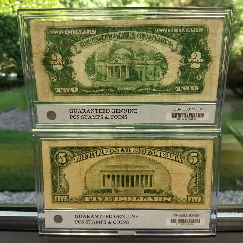 The Complete Collection of Small Size US Currency CUT 2