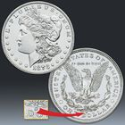 The First and Last San Francisco Morgan Silver Dollars MSF 1