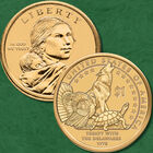 The Complete Uncirculated Collection of Sacagawea Dollars NSP 1