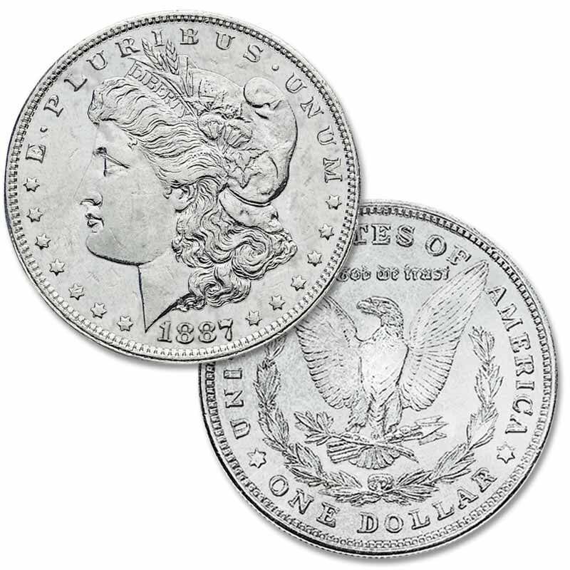 The Complete Collection of US Morgan Silver Dollars MSA 1