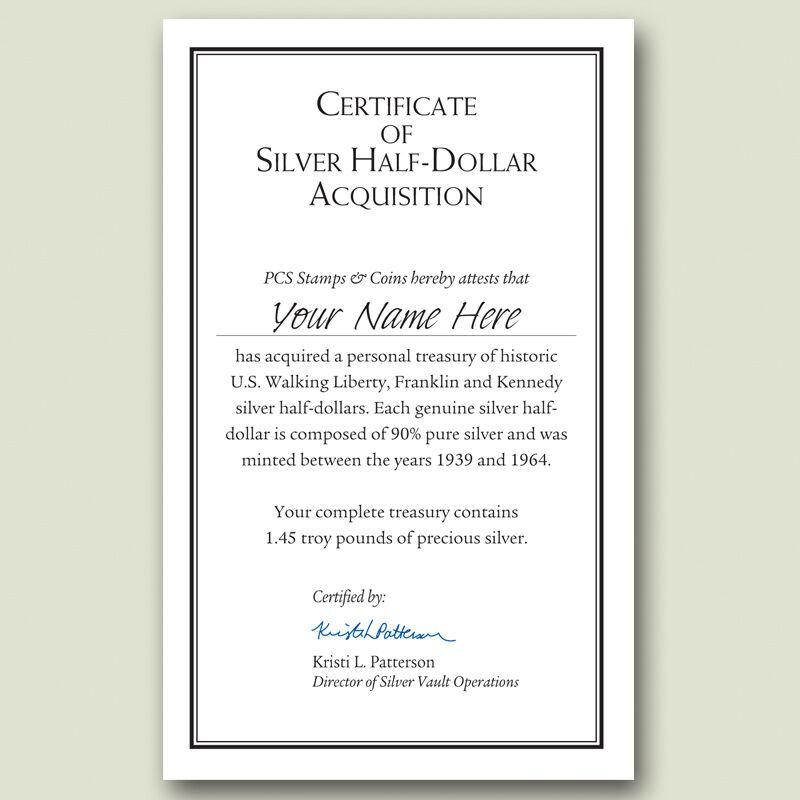 Historic US Silver Half Dollars SHT 4