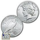 The Complete Set of Denver Mint Peace Silver Dollars DPC 1