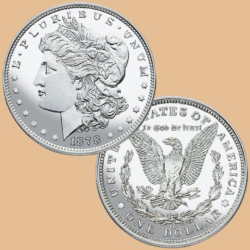 The First Carson City Morgan Silver Dollar CD1 3