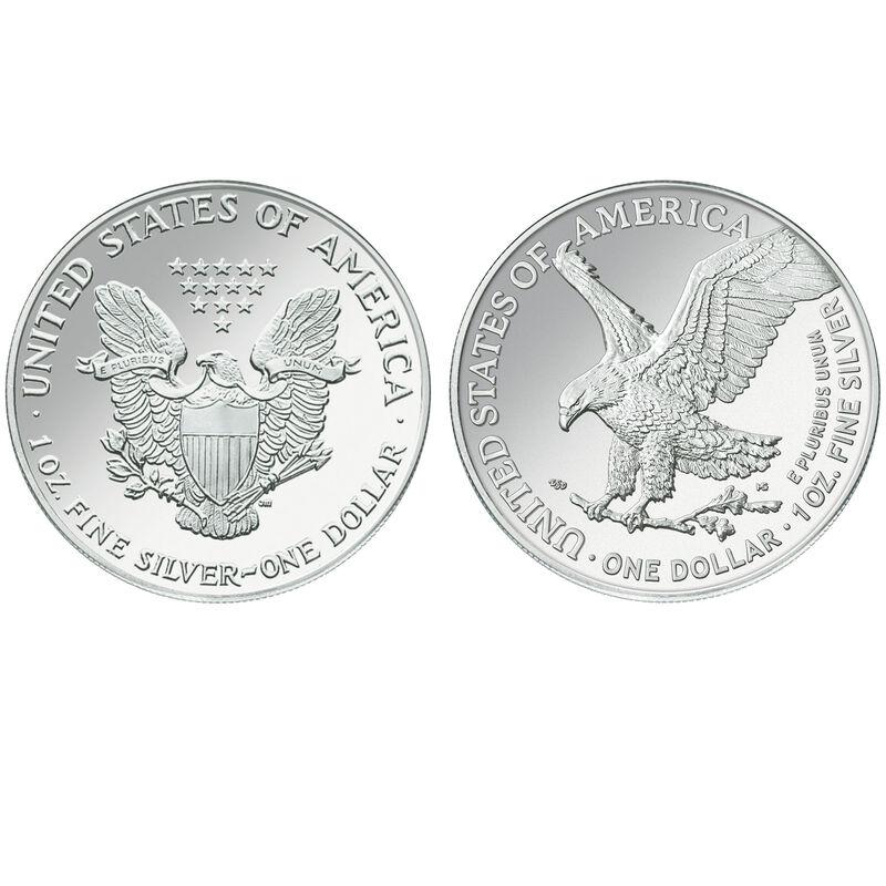 american eagle silver dollar change design EBP b Coins