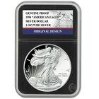 complete original design proof silver eagles EOP a Main