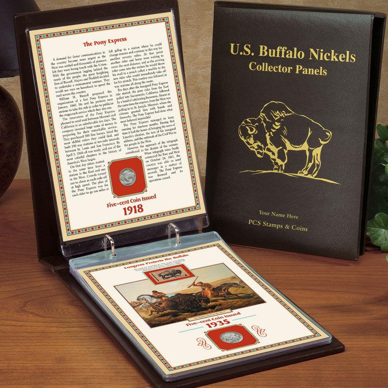 US Buffalo Nickels Collector Panels BN2 2