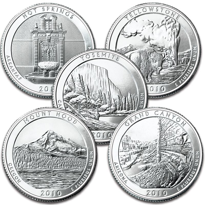 The US National Parks State Quarters Centennial Edition AB1 1
