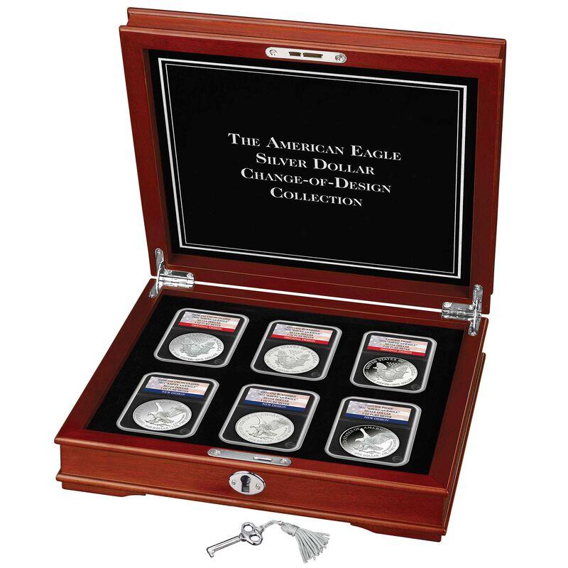 american eagle silver dollar change design collection EBP g Disp