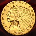 The Complete Indian Head Quarter Eagle Gold Coin Collection GQI 1