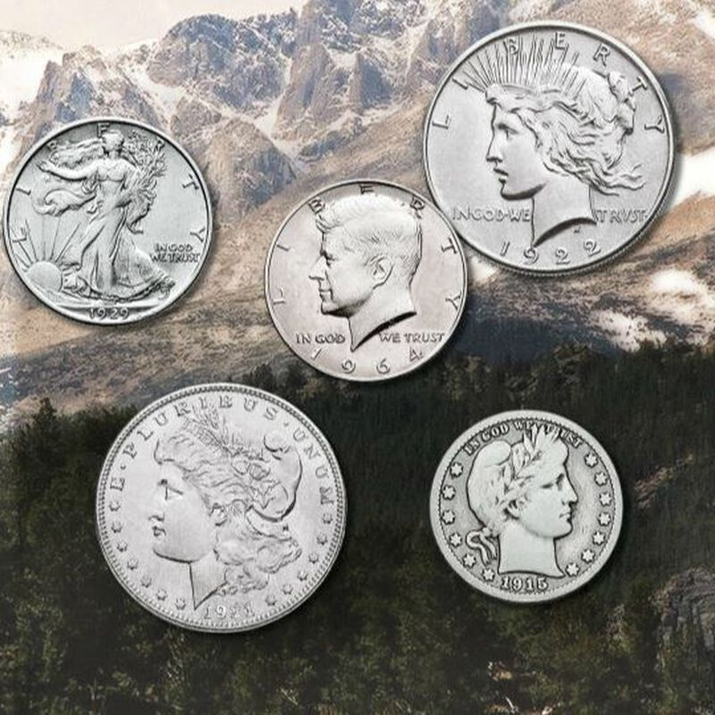 The Complete Denver Mint Silver Coin Collection DMC 4