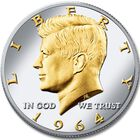 The Platinum and Gold Highlighted Kennedy Half Dollar Collection KPG 4