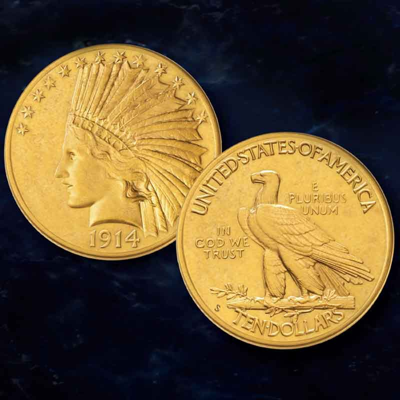 The San Francisco Mint US Gold Coin Collection GSO 4