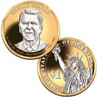 Platinum and Gold Highlighted US Presidential Coins PPG 3