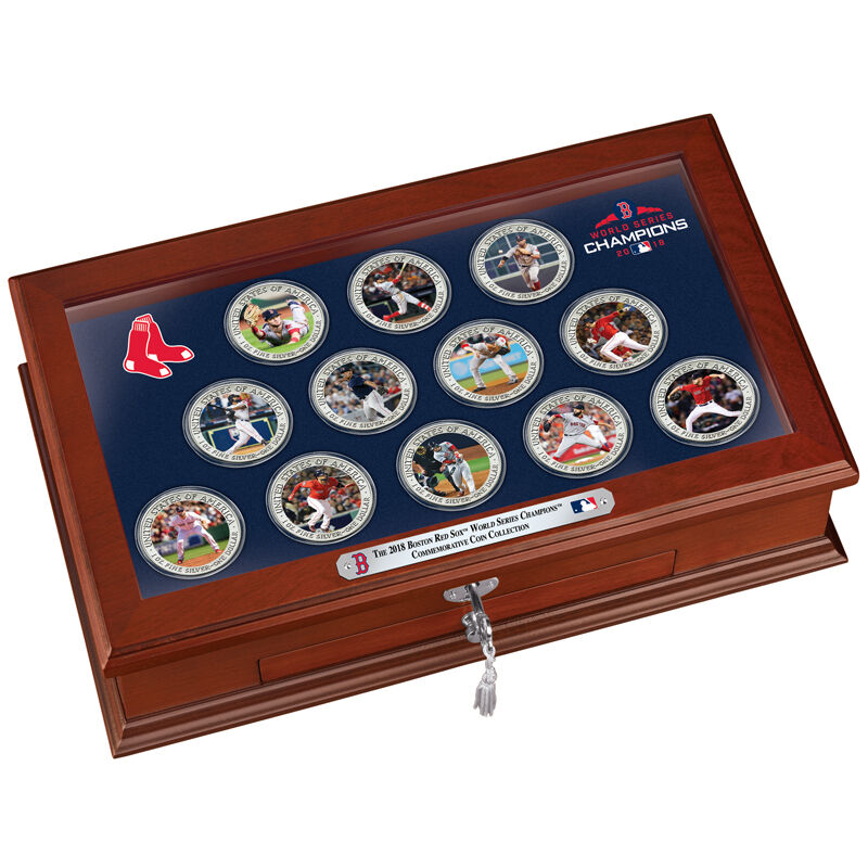 The 2018 Boston Red Sox World Series Champions Commemorative Coin Collection W18 9