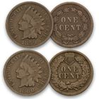 The Deluxe US Indian Head Penny Collection IP5 2