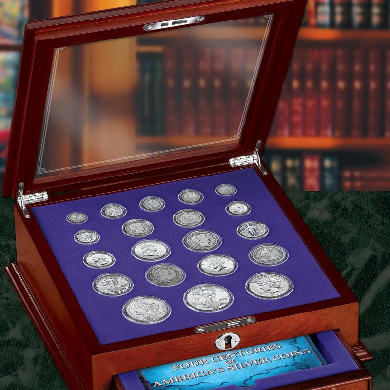 Four Centuries of Americas Silver Coins FR2 1
