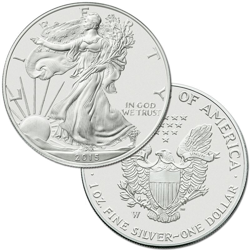 The Complete Set of American Eagle Silver Dollars SET 4