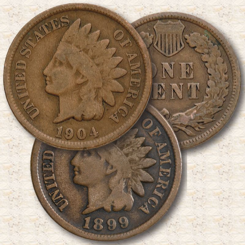 The Indian Head Penny Collection IHC 2