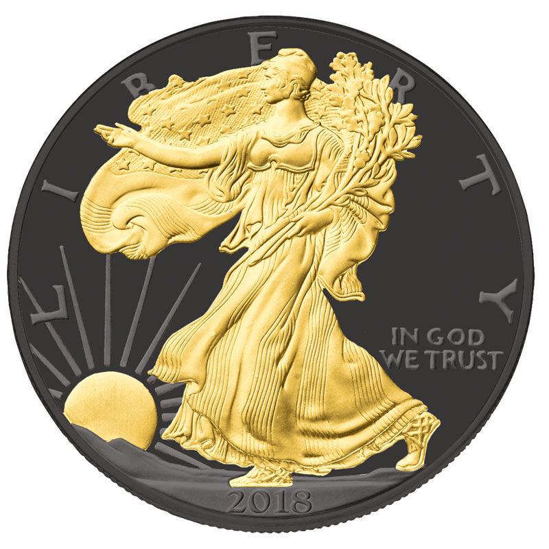 Visions of Liberty American Eagle Silver Dollars SE6 1