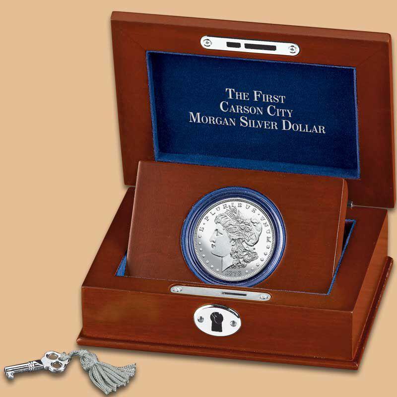 The First Carson City Morgan Silver Dollar CD1 2