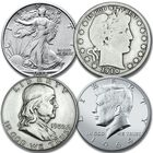50 Years of Historic US Silver Half Dollars SH5 1