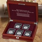 The Complete Set of Denver Mint Peace Silver Dollars DPC 2