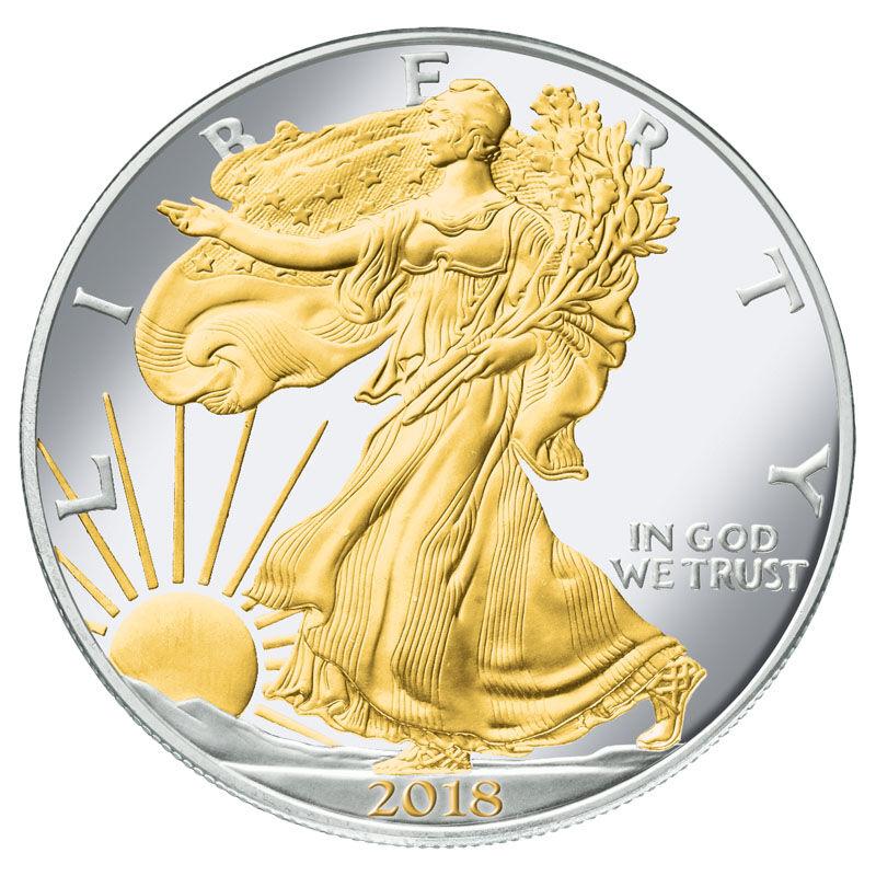 Visions of Liberty American Eagle Silver Dollars SE6 3