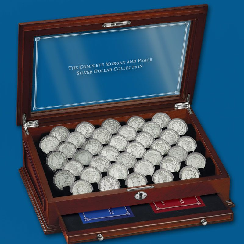 The Complete Morgan and Peace Silver Dollar Collection PMC 2