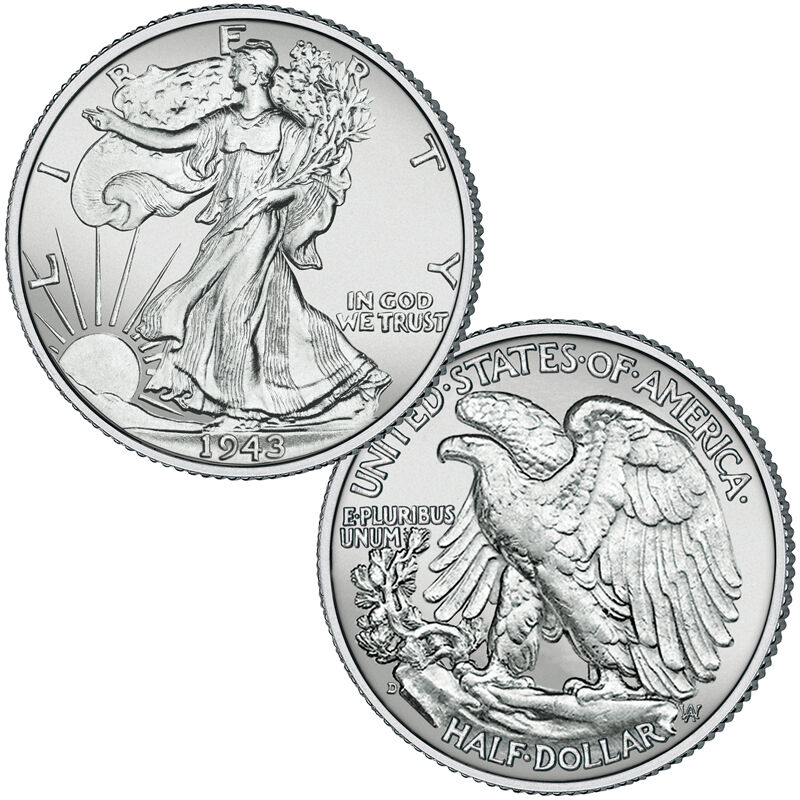 Complete MS64 Walking Liberty Silver Half Dollar Mint Collection W64 1