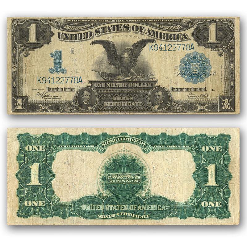 Black Eagle Silver Certificate of 1899 S9C 1