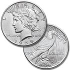The Complete US Peace Silver Dollar Collection SIP 1
