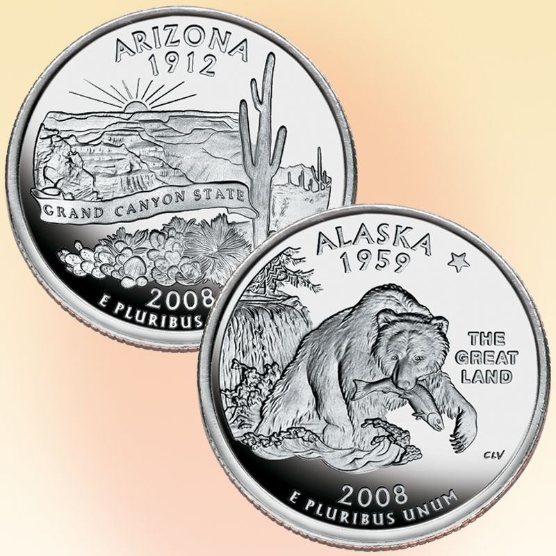 The 50 State Proof Quarters Collection STB 3