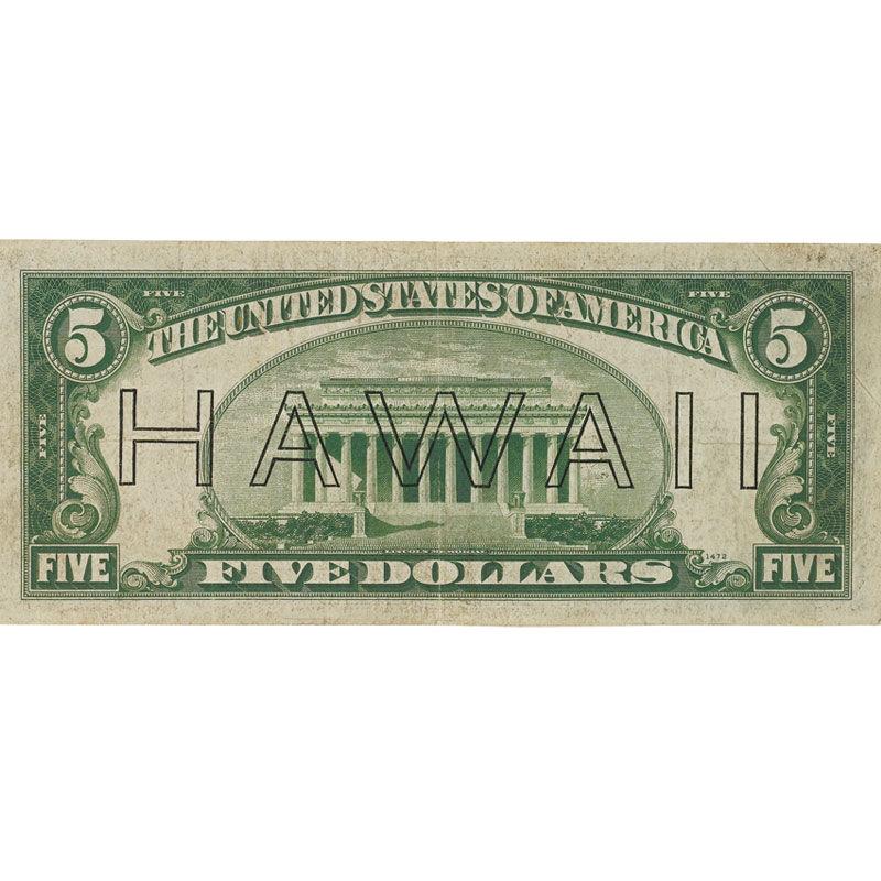 The Complete Set of World War II Emergency Currency AEI 1