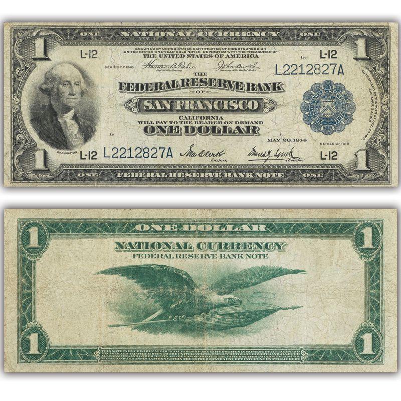 The Last Original US Banknotes LRC 1